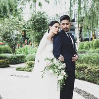 Petra Sihombing dan Firrina Sinatrya menikah [foto: instagram/petra_sihombing]