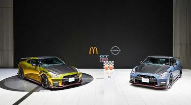 Edisi spesial Nissan Rilis GT-R Nismo versi McDonald's