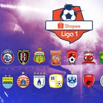 Shopee Liga 1 2019 Logo Klub (Bola.com/Adreanus Titus)