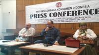 Konferensi pers YLKI pada Jumat (16/11/2018) (Foto: Merdeka.com/Wilfridus S)