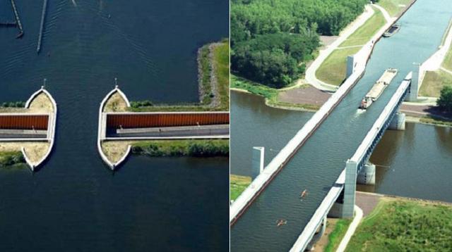 (Foto Elite Readers) Sejumlah jembatan air ini terkenal menakjubkan di dunia.