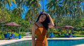 Gaya Liburan Yoriko Angeline di Bali
