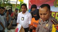 Nur Khalik tertangkap tak lenih dari 24 jam dia melakukan aksinya. Foto: (Dian Kurniawan/Lipiutan6.com)