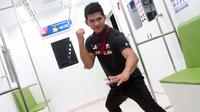 Iko Uwais akan bermain dalam film action terbaru berjudul Tribe Shorties (Liputan6.com/Hernowo Anggie)