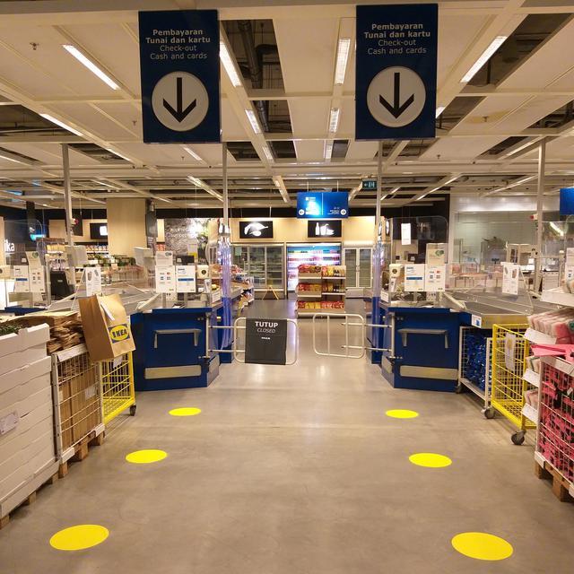 Kembali Buka Hari Ini Pengunjung Ikea Alam Wajib Check In Via Aplikasi Bisnis Liputan6 Com