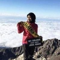 Jadi korban meninggal gempa Lombok, inipesan terakhir pendaki Gunung Rinjani asal Malaysia, Siti Nur Iesmawida Ismail. (Foto: Facebook)