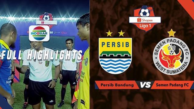 Berita video highlights Shopee Liga 1 2019 antara Persib Bandung melawan Semen Padang yang berakhir dengan skor 1-1, Rabu (18/9/2019).