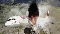 Ilustrasi Kecelakaan Pesawat (Liputan6.com/Ari Wicaksono)