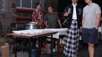 Presiden Jokowi Saat Pergantian Malam Tahun Baru 2019 (Foto: Biro Pers)