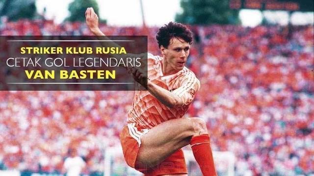 Video striker Spartak Moskow, Ivelin Popov mencetak gol legendaris Marco van Basten pada laga melawan Rubin Kazan di Liga Rusia.