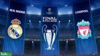 Final Liga Champions 2017/2018 Real Madrid Vs Liverpool Logo 2 (Bola.com/Adreanus Titus)