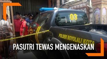 Pasutri di Boyolali ditemukan tewas mengenaskan dalam rumahnya. Menurut polisi, korban diduga bunuh diri.