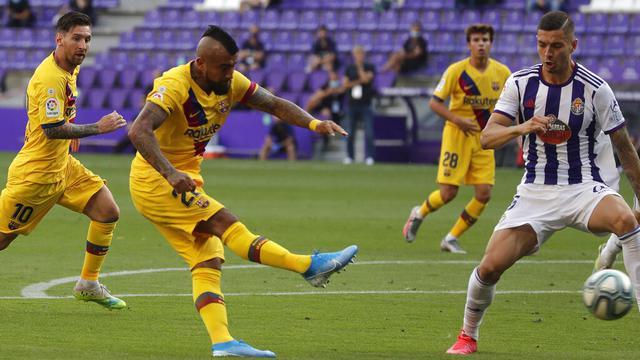 Real Valladolid Vs Barcelona
