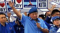 Ketua umum partai Demokrat Susilo Bambang Yudhoyono hari ini mengumpulkan seluruh pengurus DPD partai Demokrat seluruh Indonesia.