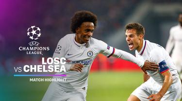 Berita video highlights Grup H Liga Champions 2019-2020 antara Lille melawan Chelsea yang berakhir dengan skor 1-2, Rabu (2/10/2019).