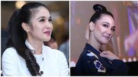 Sandra Dewi-Luna Maya. (Adrian Putra/Nurwahyunan/Bintang.com)
