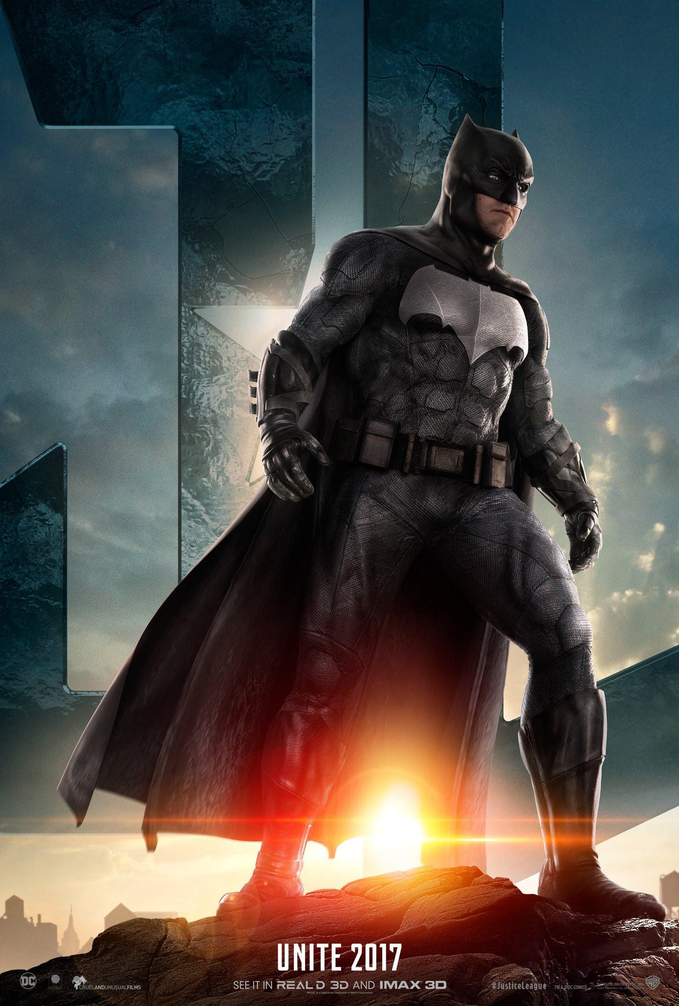 Batman dalam JJustice League. (Warner Bros / Twitter)