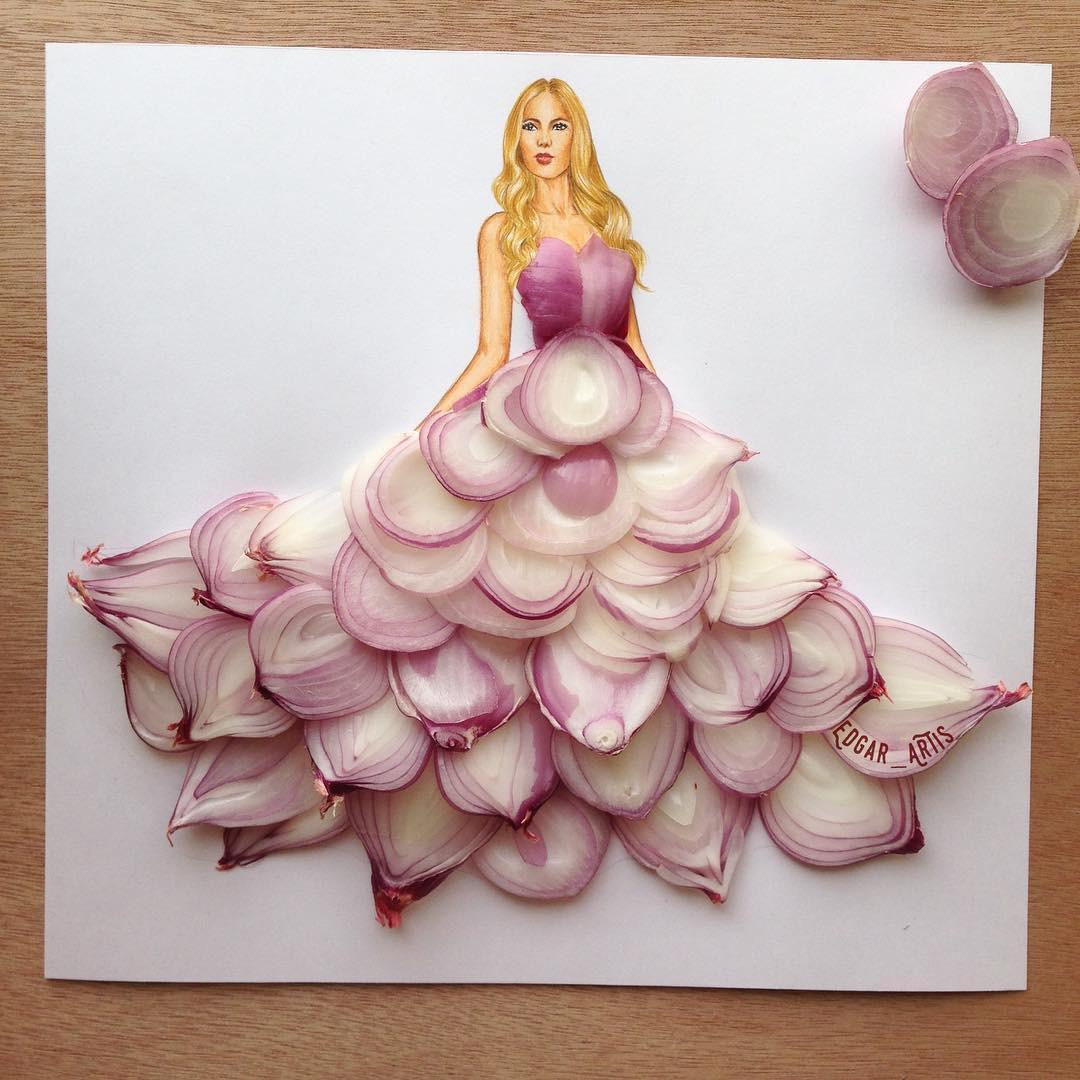 Cantik 15 Sketsa Desain Gaun Yang Kreatif Dan Unik Ban