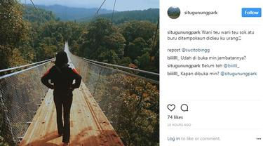 Jembatan Gantung Situ Gunung