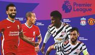 Premier League - Liverpool Vs Manchester United - Head to Head Pemain (Bola.com/Adreanus Titus)