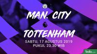 Premier League - Manchester City Vs Tottenham Hotspur (Bola.com/Adreanus Titus)