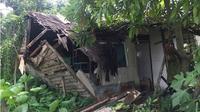 Reyotnya rumah Nenek Mustika, sang guru ngaji (Radar Banjarmasin/Jawa Pos Group/Wahyu Ramadhan)