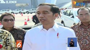 Presiden Jokowi mengakui melemahnya rupiah terjadi karena faktor eksternal yang datang bertubi-tubi.