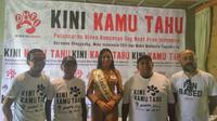 Shaggydog memulai kampanye bebas daging anjing di Yogyakarta (Liputan6.com/ Switzy Sabandar)