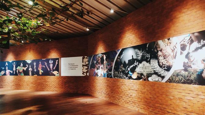 Keindahan karya lokal di Indonesia Pavilion. Dok: Istimewa