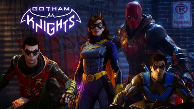 Batgirl, Nightwing, Robin, dan Red Hood. (Doc: WB Games Montreal)