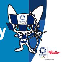 Banner Panahan Olimpiade Tokyo 2020. (Foto: Vidio)