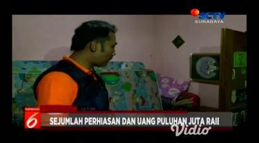 Aksi pencurian rumah kosong kembali terjadi di Ponorogo, Jawa Timur.