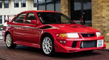 Mitsubishi Lancer Evolution VI Tommi Makinen Edition yang Jadi Rebutan