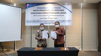 Perjanjian Kerja sama (MOU) antara PT Adhi Commuter Properti dengan Perumda Pembangunan Sarana Jaya. (Dok: Istimewa)