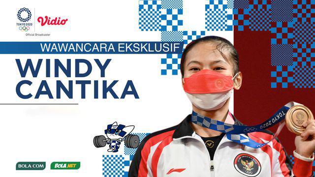 Berita video wawancara eksklusif Bola.com dan Bola.net dengan Windy Cantika Aisah, atlet angkat besi pembuat kejutan di Olimpiade Tokyo 2020 yang selalu ingat dengan wejangan sang ibunda.