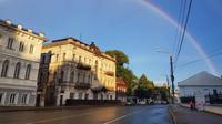 Pelangi lingkaran penuh di Russia (Facebook/ Ilya Merkulov)