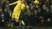 4. Eden Hazard (Chelsea) - 7 gol dn 4 assist (AFP/Daniel Leal Olivas)