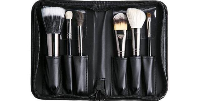 Morphe 6 Piece Travel Brush Set/copyright sociolla.com