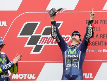 20170409-Maverick Vinales Juara MotoGP Argentina-AP