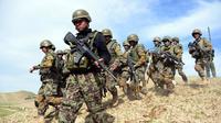 3 Prajurit AS Dibunuh Tentara Afghanistan dalam Serangan Jebakan (HOSHANG HASHIMI / AFP)
