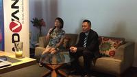 Ki-ka: GM Sales PT Bangga Teknologi Indonesia Ellen Angerani Gunawan dan Direktur Operasional PT Bangga Teknologi Indonesia Chandra Tansri. Liputan6.com