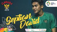 Garuda Kita Asian Games Septian David (Bola.com/Adreanus Titus)
