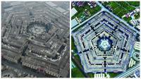 Bukan hanya sejumlah barang elektronik yang ditiru, gedung Pentagon juga ada tiruannya.