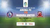 Arema FC vs Madura United FC