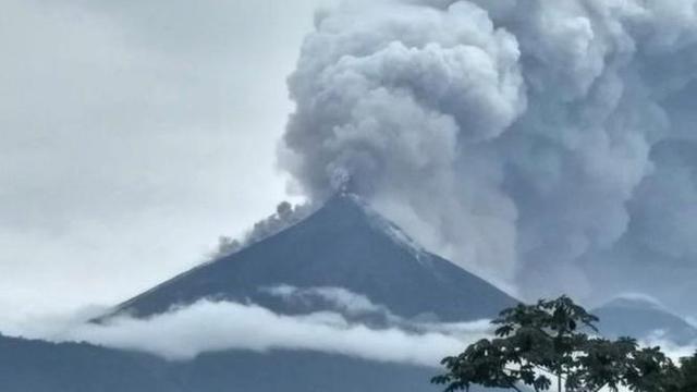Gunung Fuego Kembali Erupsi di Guatemala, 4.000 Orang Mengungsi