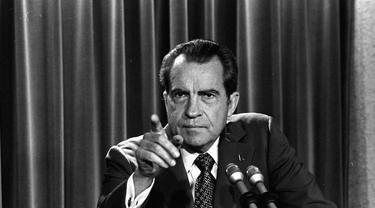 Richard Nixon (AP: Charles Tasnadi)