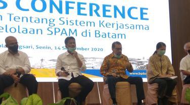 PT Moya Indonesia resmi mengelola air Batam setelah memenangkan tender lelang Sistem Pengelolaan Air Minum Batam.
