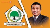 Banner Golkar Vs Erwin Aksa (Liputan6.com/Triyasni)