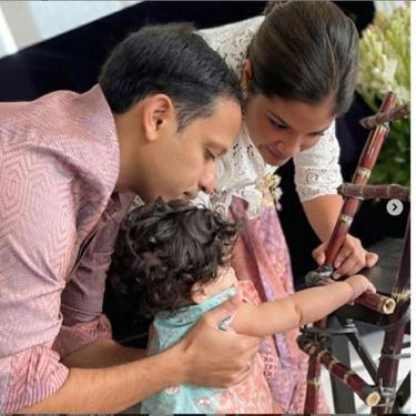 Mendikbud Nadiem Makarim Bagikan Foto Perayaan Tedhak Siten Anaknya