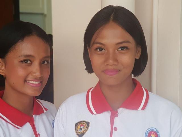 Rambut Pendek Tak Masalah Untuk Dua Calon Paskibraka 2017 Ini News Liputan6 Com